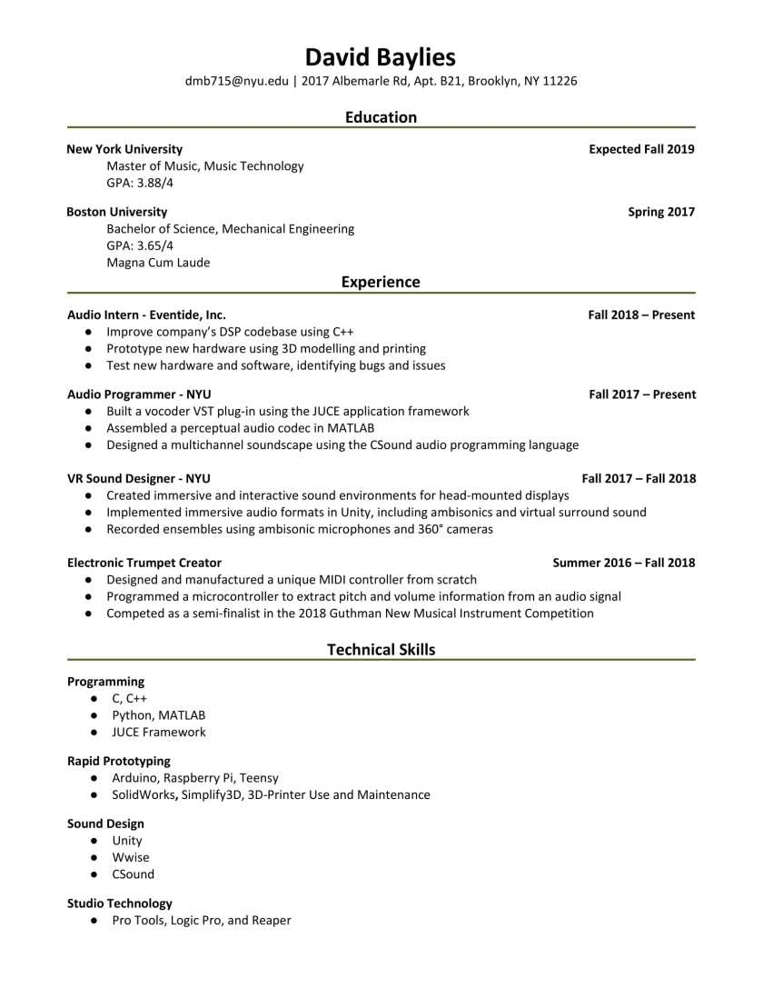 baylies resume - january 2019-1